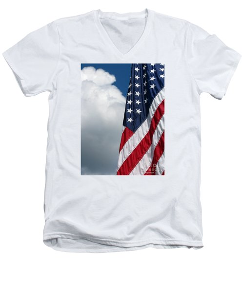 September Flag Men's V-Neck T-Shirt