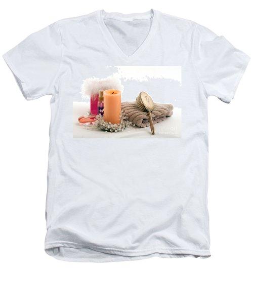 Men's V-Neck T-Shirt featuring the photograph Serenity by Gunter Nezhoda