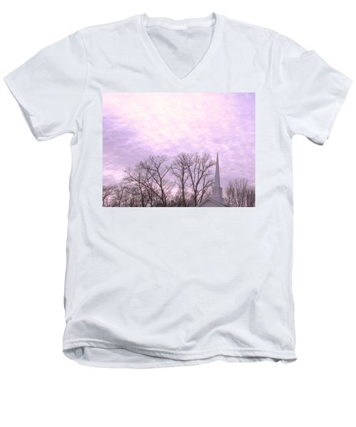 Men's V-Neck T-Shirt featuring the photograph Serenity by Pamela Hyde Wilson