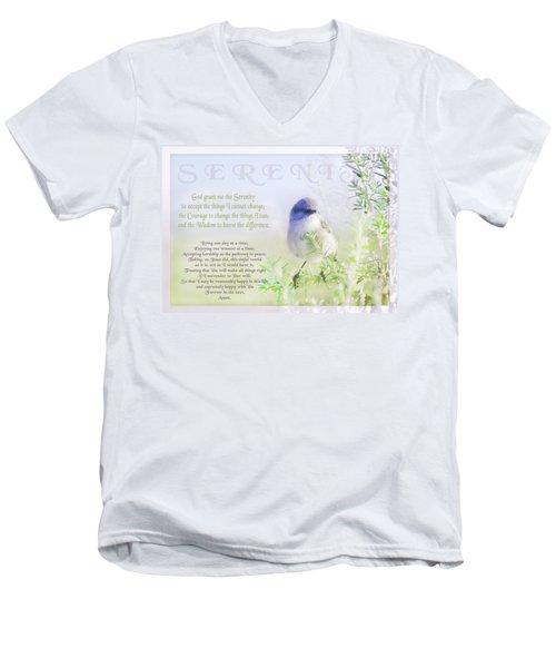 Serenity Prayer Men's V-Neck T-Shirt
