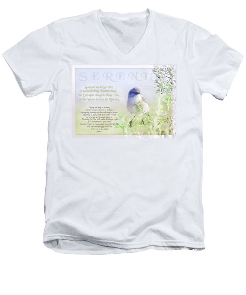 Serenity Prayer Men's V-Neck T-Shirt
