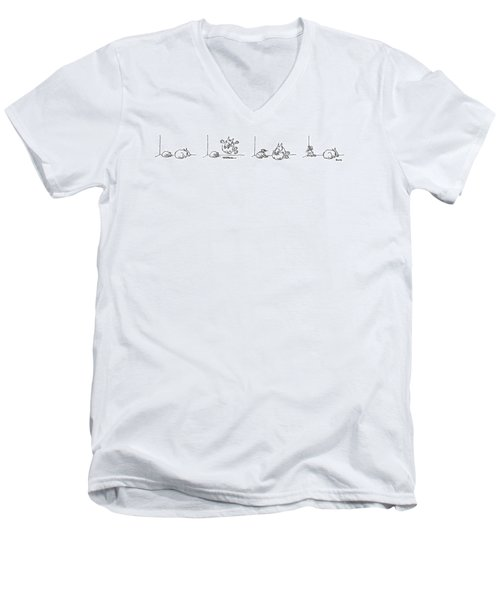 Series Men's V-Neck T-Shirt