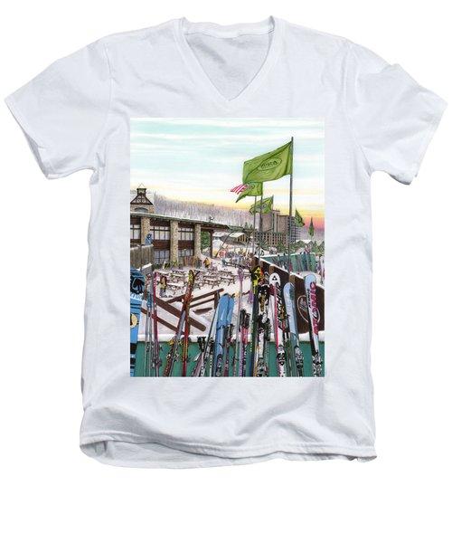 Seven Springs Mountain Resort Men's V-Neck T-Shirt