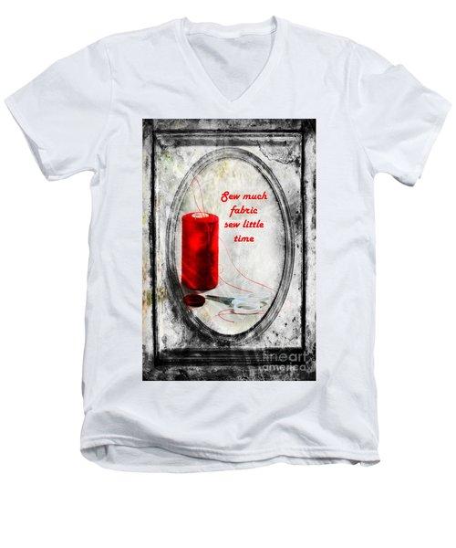 Sew Much Men's V-Neck T-Shirt