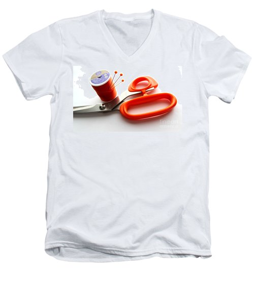 Sewing Essentials Men's V-Neck T-Shirt by Barbara Griffin