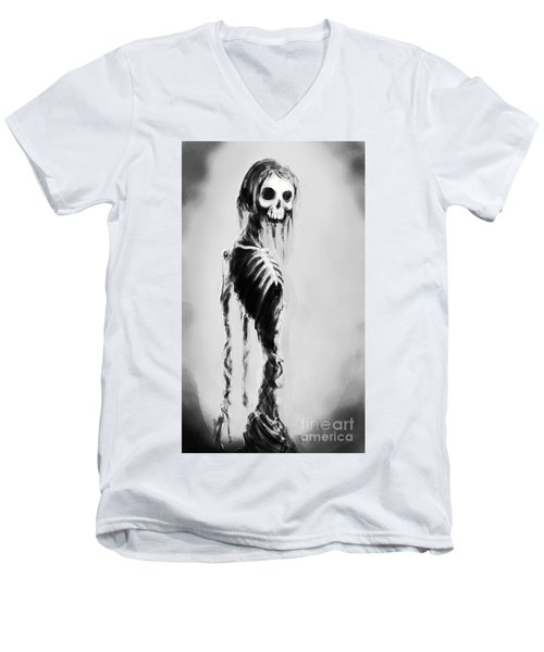 Sexy Bones Men's V-Neck T-Shirt