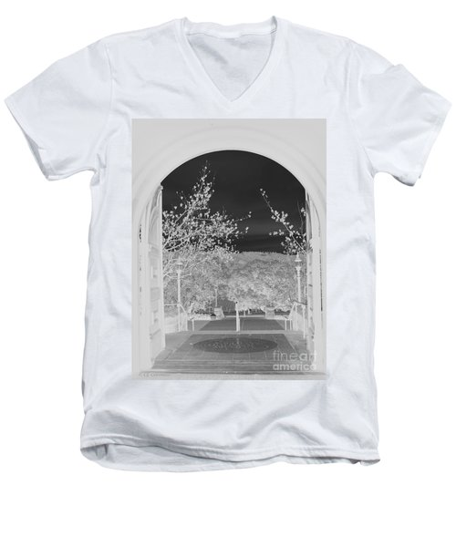 Shades Of Grey Men's V-Neck T-Shirt by Carol Lynn Coronios
