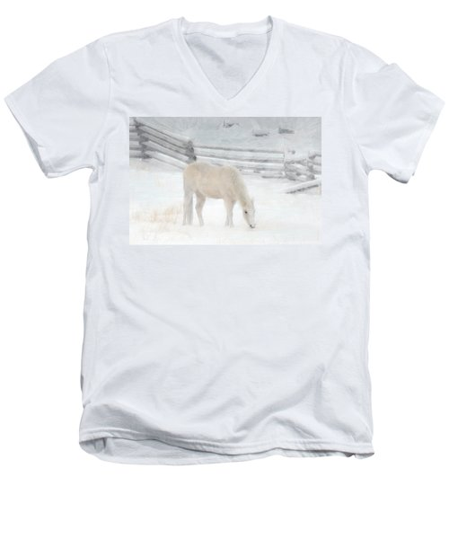 Shades Of Pale Men's V-Neck T-Shirt