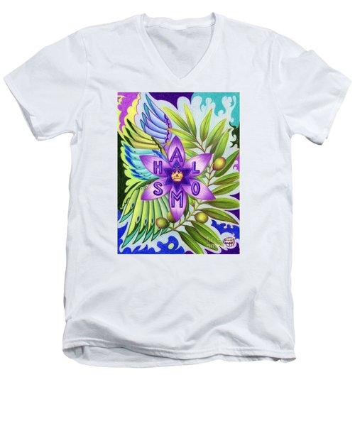 Shalom Men's V-Neck T-Shirt