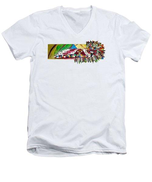 Shango Firebird Men's V-Neck T-Shirt
