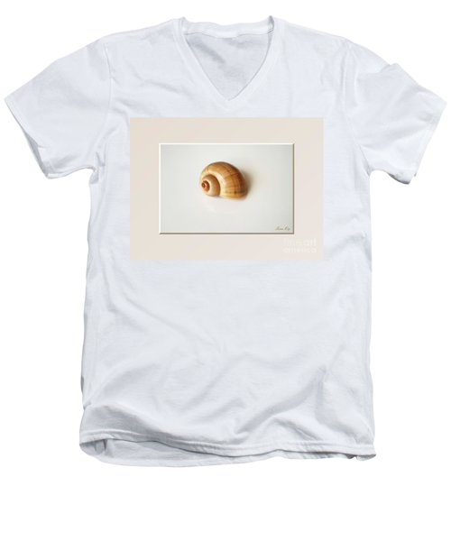 Shell. Delicate Colors Men's V-Neck T-Shirt