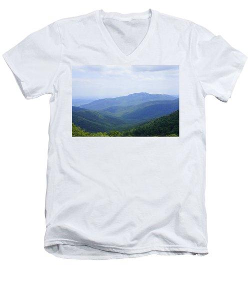 Shenandoah View Men's V-Neck T-Shirt
