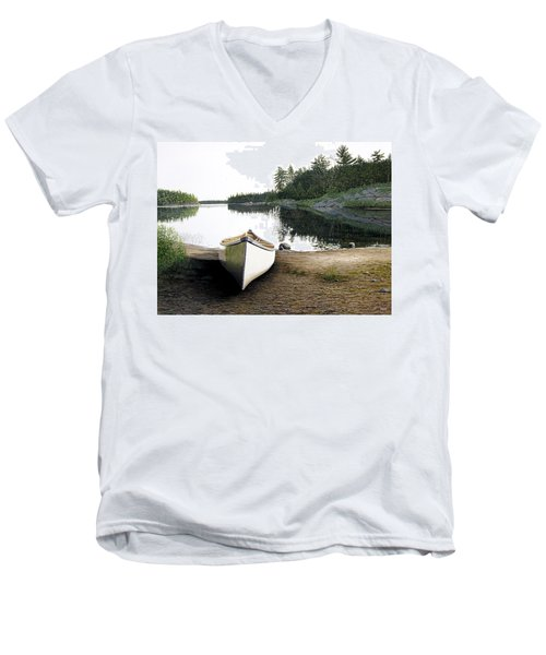 Silent Retreat Men's V-Neck T-Shirt
