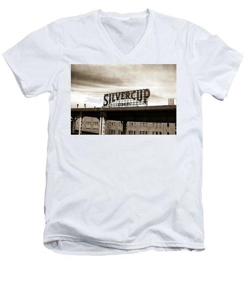 Silvercup Studios Men's V-Neck T-Shirt