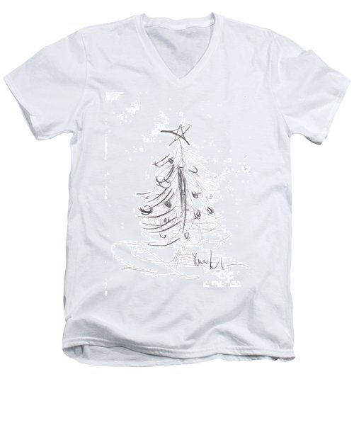 Simple Love Men's V-Neck T-Shirt