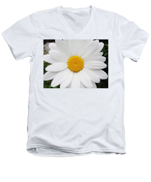 Men's V-Neck T-Shirt featuring the photograph Simply by Natalie Ortiz
