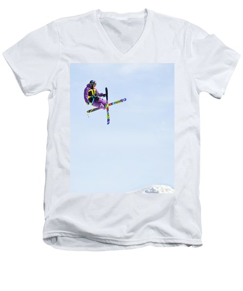 Ski X Men's V-Neck T-Shirt