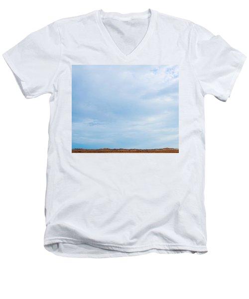 Skyward Men's V-Neck T-Shirt by Angela J Wright