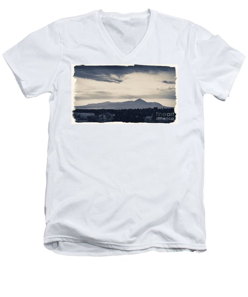 Sleeping Ute Mountain Men's V-Neck T-Shirt
