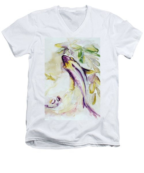Snapper And Skate Men's V-Neck T-Shirt