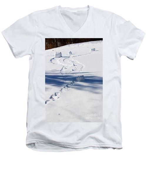 Snow Rollers Men's V-Neck T-Shirt