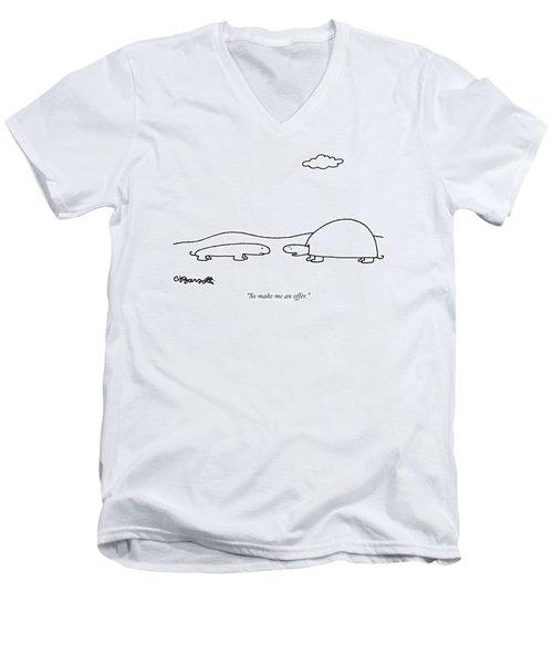 So Make Me An Offer Men's V-Neck T-Shirt