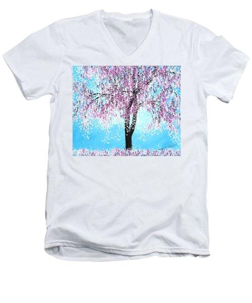 So Spring Men's V-Neck T-Shirt