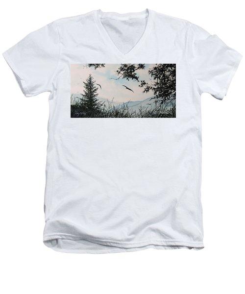 Soaring High Sold Men's V-Neck T-Shirt