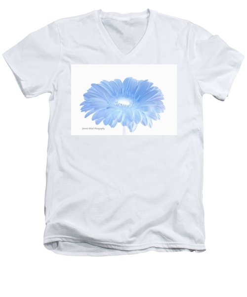 Men's V-Neck T-Shirt featuring the digital art Have A Beautiful Day  by Jeannie Rhode