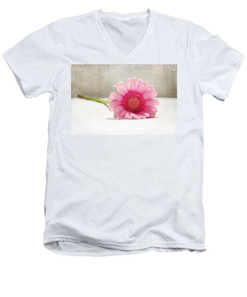 Softness In Pink Men's V-Neck T-Shirt