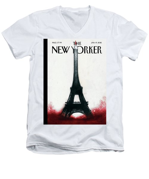 Solidarite Men's V-Neck T-Shirt