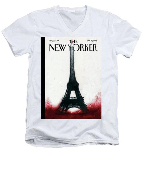 Solidarite Men's V-Neck T-Shirt