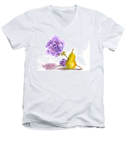 Sometimes Love Hurts Men's V-Neck T-Shirt