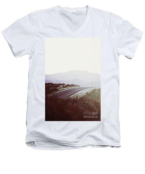 Somewhere Men's V-Neck T-Shirt