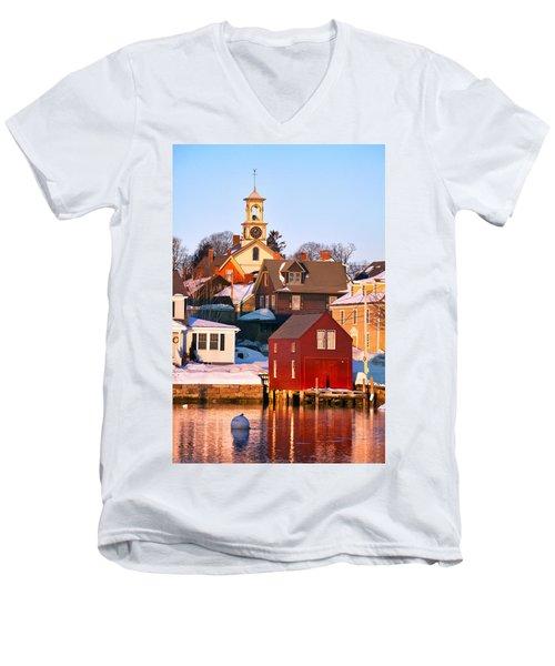 South End Boathouse Men's V-Neck T-Shirt