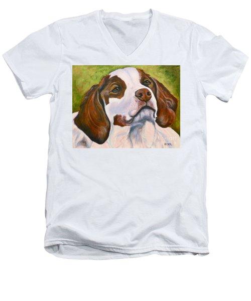 Spaniel Soul Men's V-Neck T-Shirt