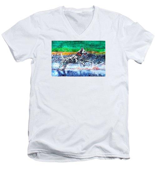 Sparky Men's V-Neck T-Shirt