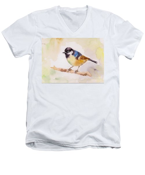 Sparrow Men's V-Neck T-Shirt