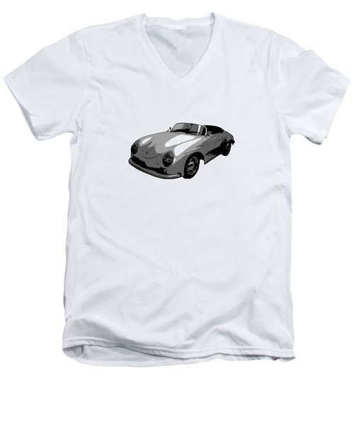 Speedster Men's V-Neck T-Shirt by J Anthony