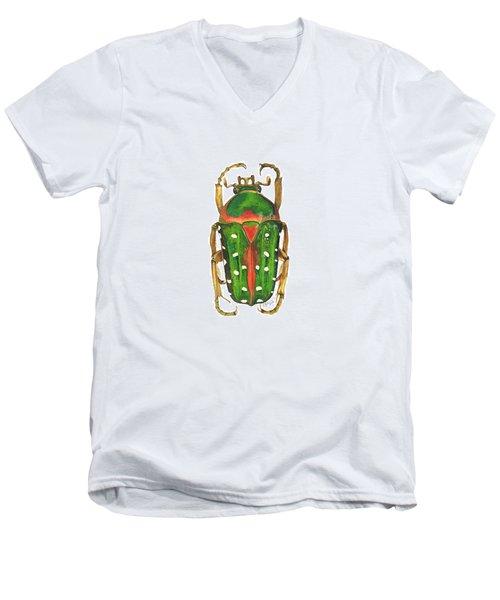 Spotted Flour Beetle Men's V-Neck T-Shirt
