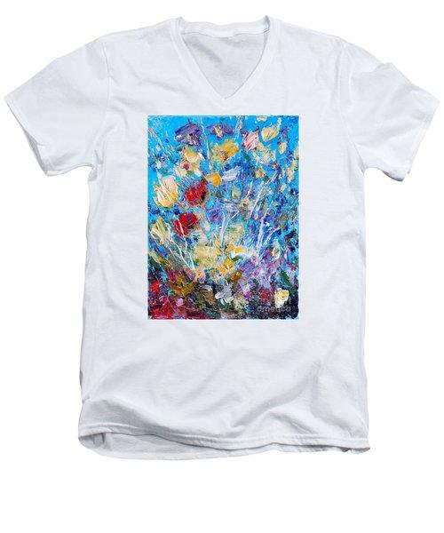Spring  2 Men's V-Neck T-Shirt