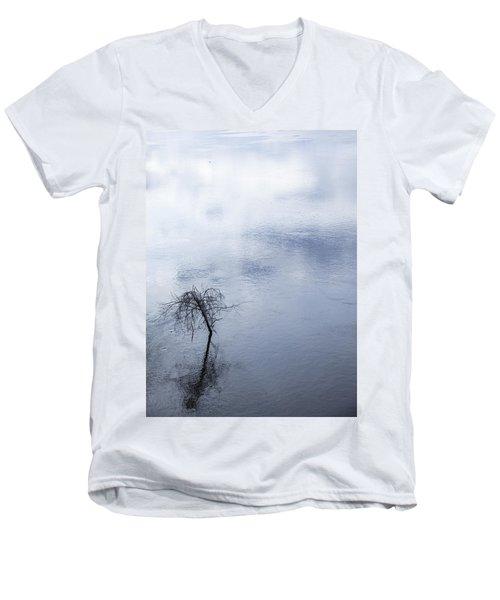 Spring Flood In Georgia Men's V-Neck T-Shirt
