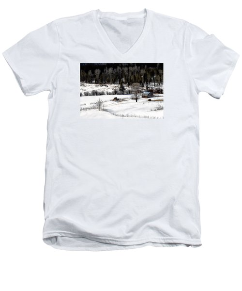 Spring Horizon Men's V-Neck T-Shirt