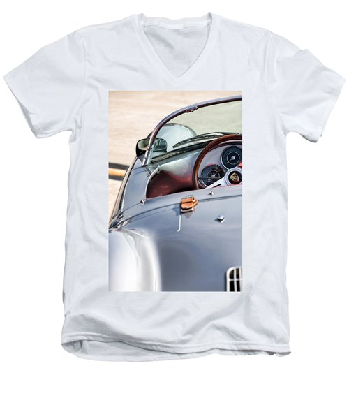 Spyder Cockpit Men's V-Neck T-Shirt by Peter Tellone