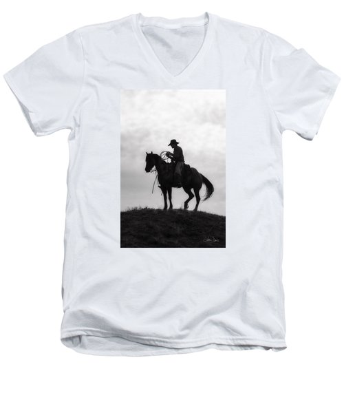 Standing Watch 2013 Men's V-Neck T-Shirt