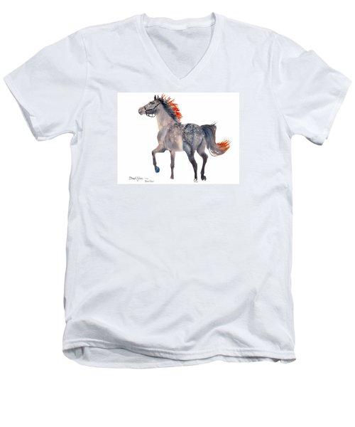 Da151 Star Dust By Daniel Adams Men's V-Neck T-Shirt
