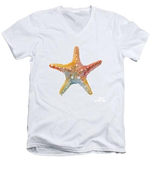 Starfish Men's V-Neck T-Shirt