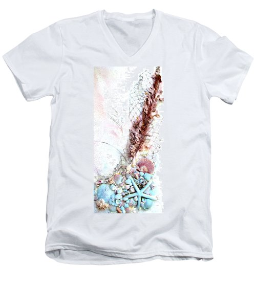 Starfish Is The Star Men's V-Neck T-Shirt