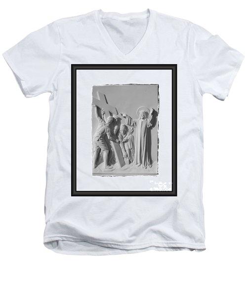 Station I I Men's V-Neck T-Shirt