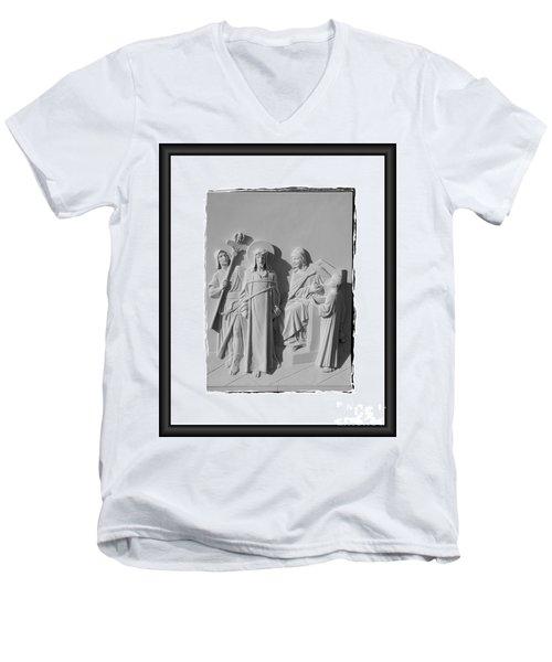 Station I Men's V-Neck T-Shirt